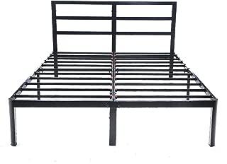 V&LX 14 inch Tall Heavy-Duty Steel Slats/1.0T Steel Frame/V1402/ Head Support/Bed Frame/Platform Bed (King)