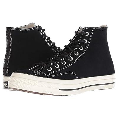Converse Chuck 70 Base Camp Suede Hi (Black/Black/Egret) Lace up casual Shoes