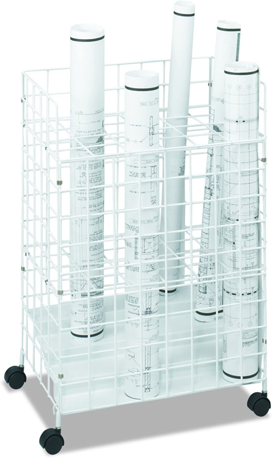 Safco Products 3088 Wire Max 52% OFF Roll 24 White Compartment Max 46% OFF File