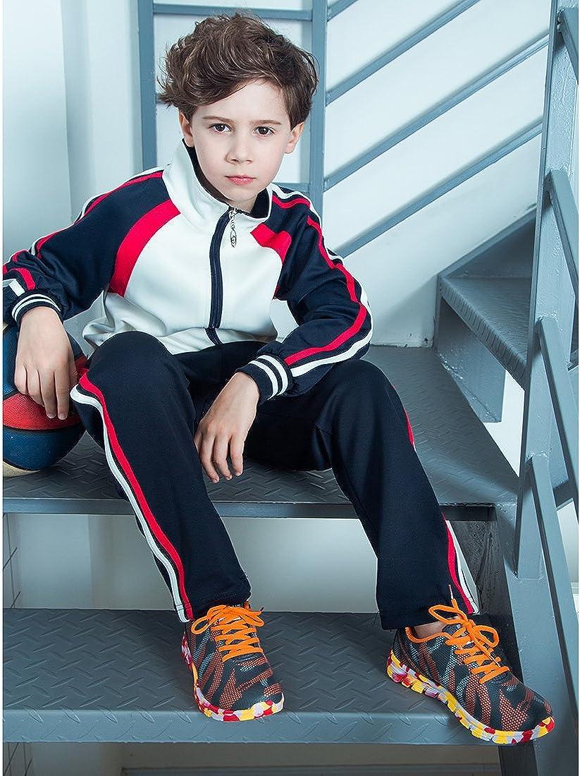 Toddler//Little Kid//Big Kid Hawkwell Boys Girls Breathable Lightweight Running Shoes