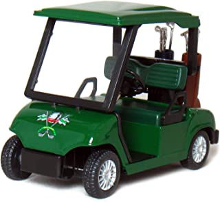 "KinsFun Die-cast Metal Golf Cart Model, 4½"", Green"