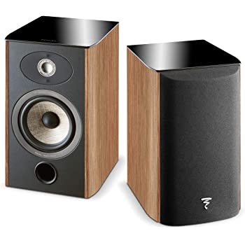 Focal Aria 906 Bookshelf Speaker - Pair (Dark Walnut)