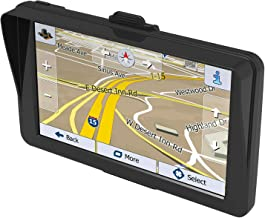 GPS Navigation for Car 7 Inch with Sunshade Vehicle GPS Navigation Car System 8G Memory Portable Truck Navigator Touch Screen North America Lifetime Maps Free Update
