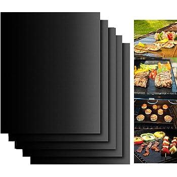 BBQ Grillmatten Backmatten Unterlage Antihaft Dauerbackfolie Zuschneidbar DE