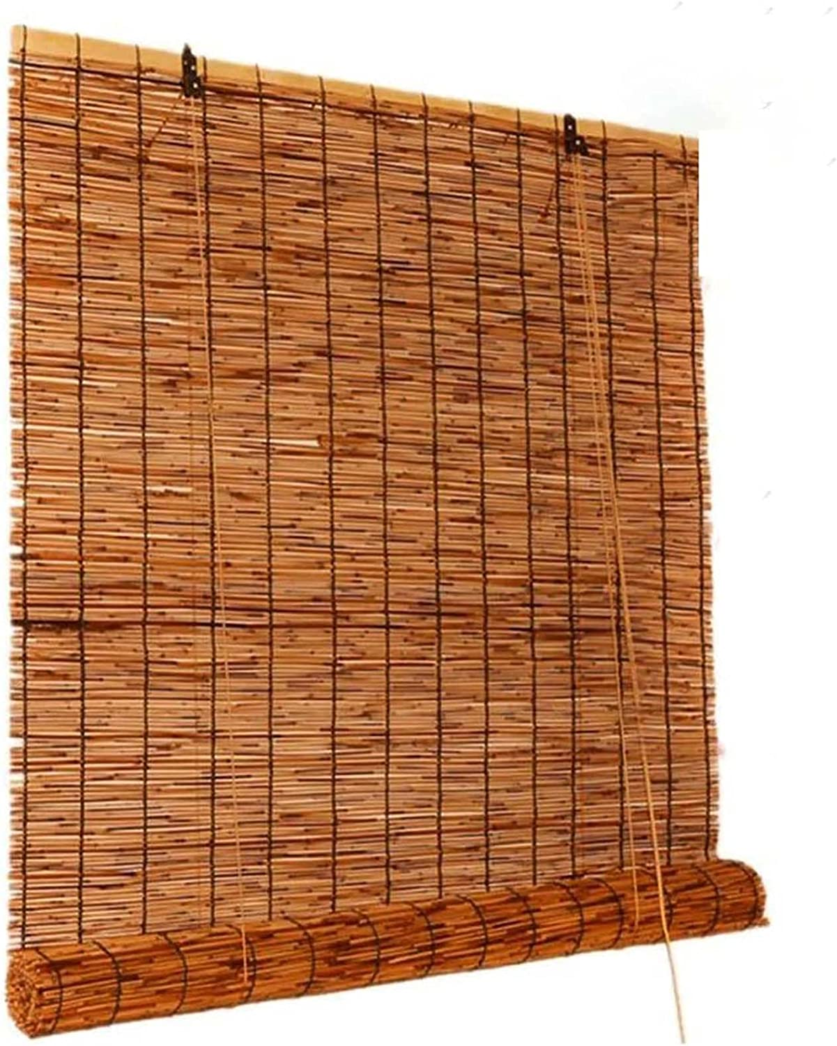 Odie·Tom Natural Reed Spring new work Curtain Bamboo At the price of surprise Roller Privacy Oc Shades
