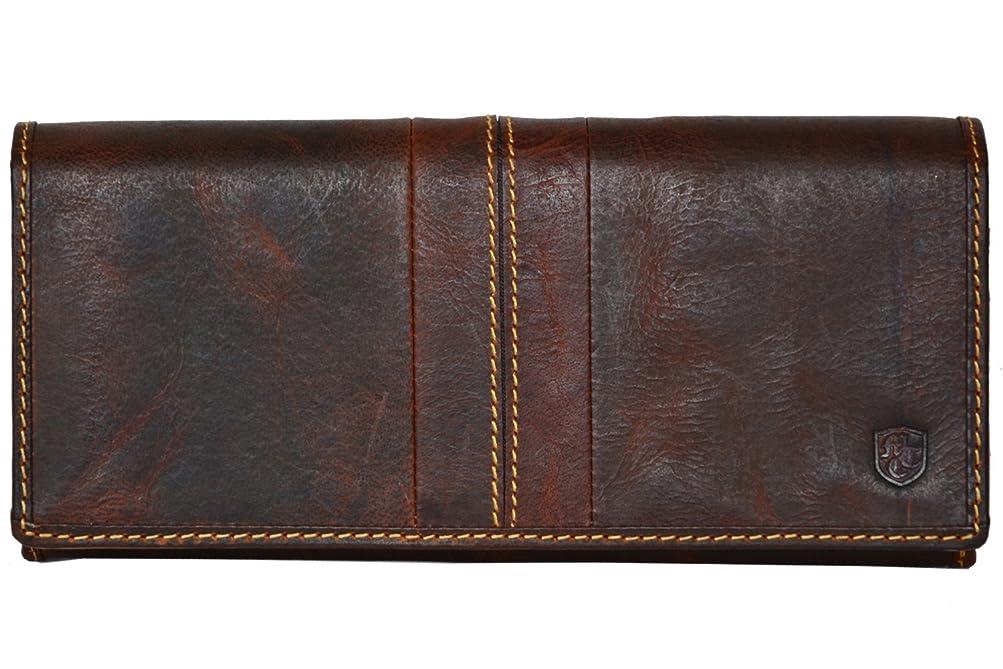 不快なオセアニアドレス[ムスタッシュ] MOUSTACHE 長財布 ジップ式 豚革 牛革 レザー メンズ レディース プレゼント / キャメル キャメル DBR-5407CA