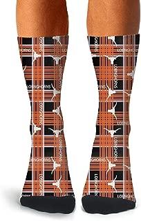 Men's Compression Sweat-absorbent Cool Socks Bike Funky Calf Socks