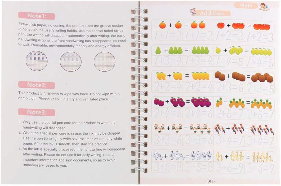 Comfybear Sank Magic Practice Copybook Alphabet mit Stiften