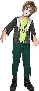 Boys Kids Frankenstein Monster Costume Child's Monster Frank Costumes Halloween