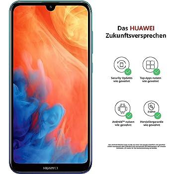 Huawei Y7 (2019) 4G 32GB 3GB RAM Dual-SIM Aurora Blue EU: Amazon ...