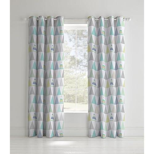 Geometric Curtains Amazon Co Uk