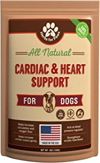 Dog Cardio Strength Heart Murmur Hawthorn Supplement, Hawthorne for Dogs Vitamins for pet Heart Health| Made in USA