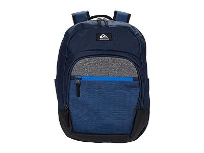 Quiksilver Schoolie Cooler II (Navy Blazer Heather) Backpack Bags