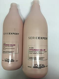 Loreal Professional Vitamino Color Shampoo & Color Protecting Conditioner Set