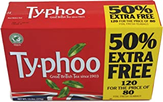Typhoo Tea 120 Bags (80 Bags + 40 Bags Free)