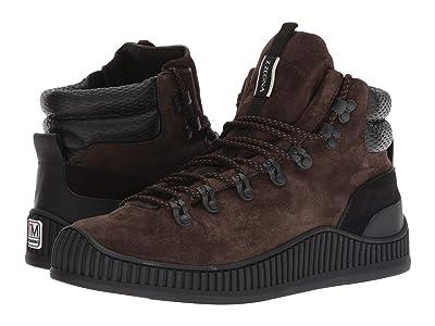 Z Zegna Techmerino Hiking Mountaineer Sneaker (Dark Brown) Men