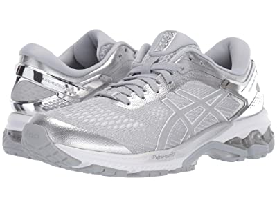 ASICS GEL-Kayano(r) 26 (Piedmont Grey/Silver 1) Women