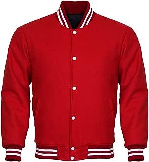 Letterman Varsity Jackets Red Wool Jacket