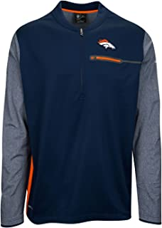 Nike NFL Denver Broncos Coaches 1/2 Zip Pullover top