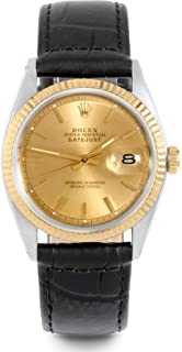 Rolex Datejust Swiss-Automatic Male Watch 1601 (Certified Pre-Owned)