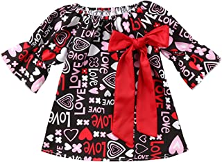 Baby Girl Cotton Dress Infant Long Sleeve Ruffle Dresses Holiday Dress for Baby Girl