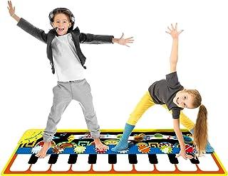 INFANT MOMENT Kids Musical Piano Mat, 19 Keys Piano Keyboard
