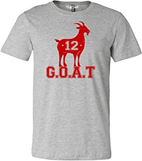 NuffSaid Adult Greatest of All Time New England Goat Tee - Unisex T-Shirt