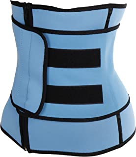 SLIMBELLE Women Waist Trainer Cincher Body Shaper Corset Weight Loss Belt Tummy Trimmer Sauna Top