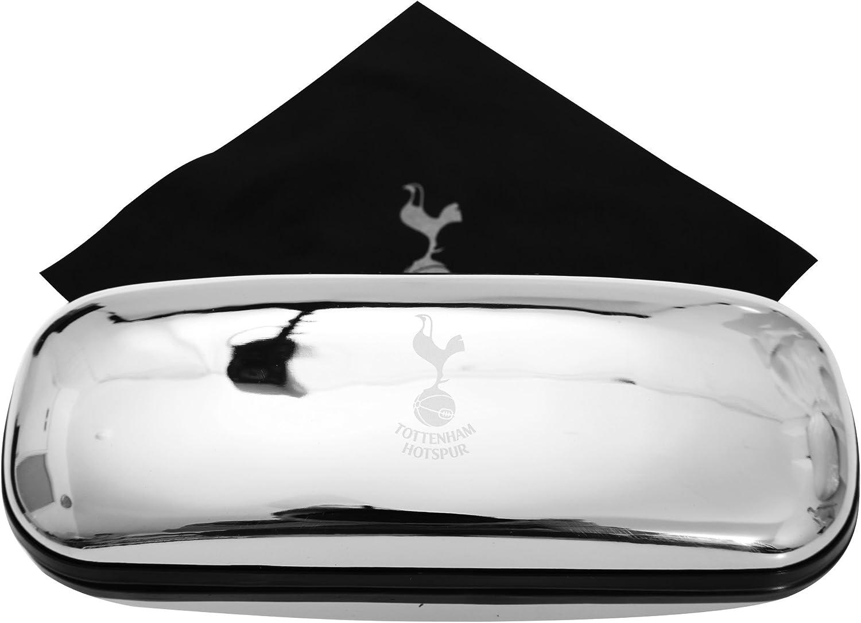 Tottenham Hotspur FC Estuche cromado para gafas con escudo del equipo