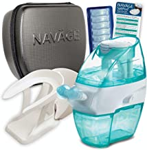 Navage Nasal Care Deluxe Bundle: Nav?ge Nose Cleaner, 40 SaltPod Capsules, Countertop Caddy, and Travel Case. 148.85 if Pu...