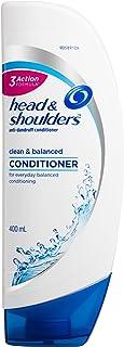 Head & Shoulders Clean & Balanced Anti-Dandruff Conditioner 400ml