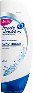 Head & Shoulders Clean & Balanced Anti-Dandruff Conditioner 400ml