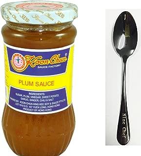 Koon Chun Plum sauce + Only One NineChef Spoon (3 Bottle)