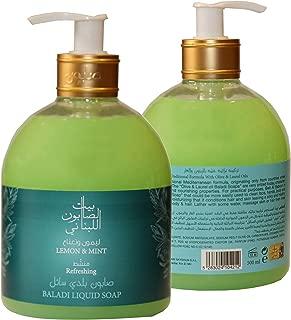 Bayt Al Saboun Al Loubnani Lemon & Mint Liquid Soap, 500 Ml