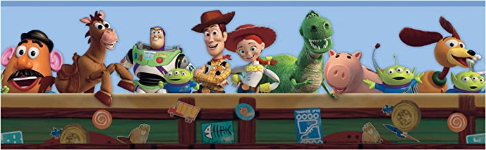 York Wallcoverings DK5800BDSMP Disney Kids Toy Story  Wallpaper Memo Sample, 8-Inch x 10-Inch