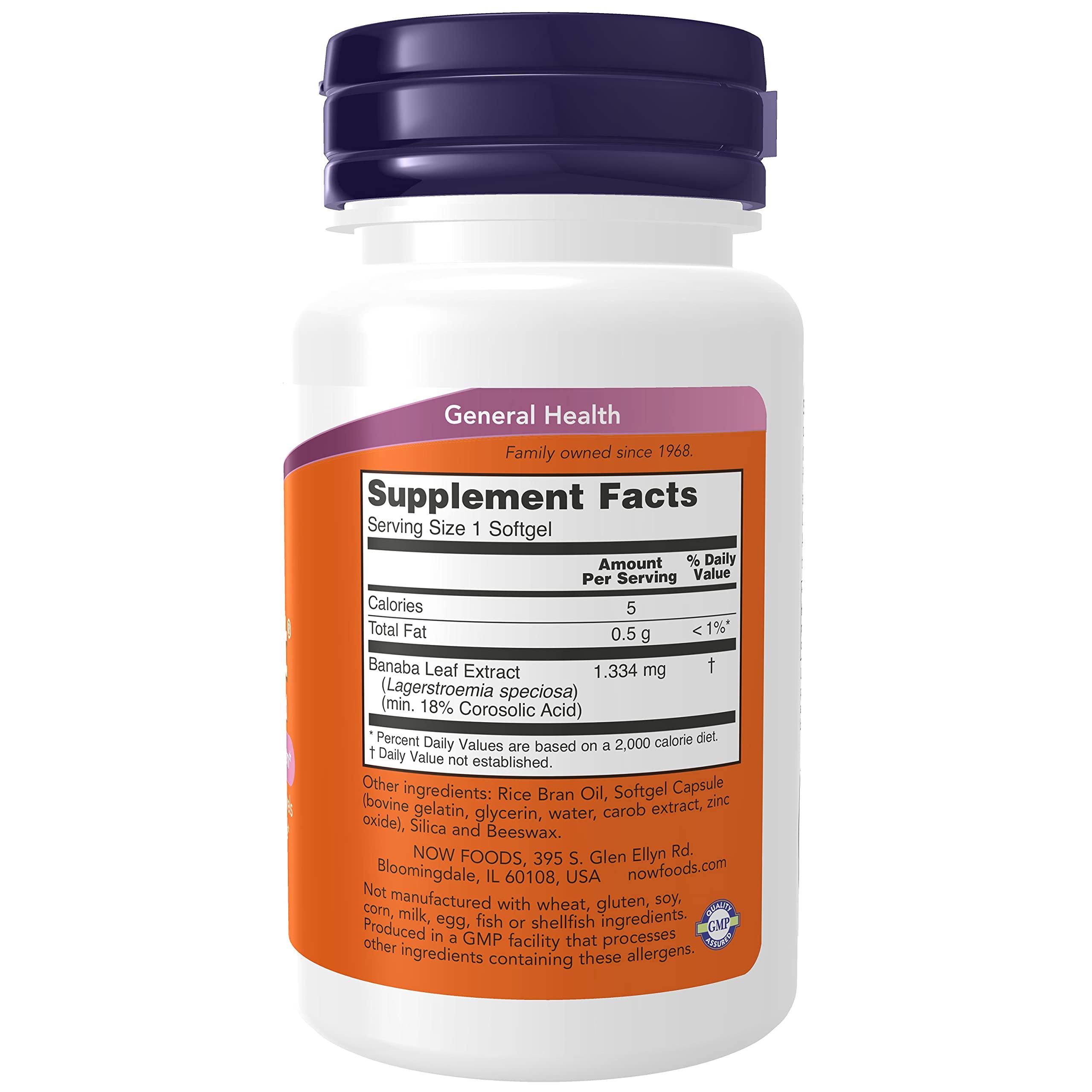 Now Foods - Glucofit 24 Mg. 60 Softgels Formerly Glucotrim