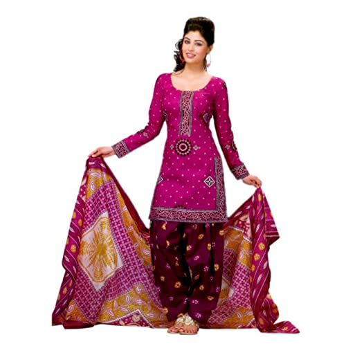 a5cee34b2a Bandhani Suit Material  Buy Bandhani Suit Material Online at Best ...