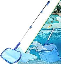 Sponsored Ad – CJGQ Pool Skimmer Net with Telescopic Aluminum Pole 4 Feet,Leaf Skimmer Mesh Rake Net for Swimming Pool Hot...