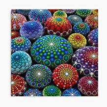 Akalin Jewel Drop Mandala Stone Collection 3D Canvas Printing Radon Frame Canvas Home Decorative Wall Art Painting Mural Printing 8