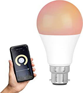 Intempo EE5013BWHTSTKEU7 Smart Bulb with Bayonet Fitting | 8.5 W | App Control Modes | Compatible with Amazon Alexa and Go...