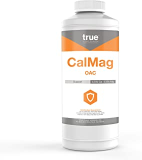 Organic Cal-Mag OAC Plant Nutrient Supplement by True, Quart (32 oz)