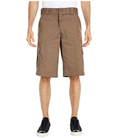 Dickies 13 Relaxed Fit Mechanical Stretch Cargo Shorts (Mushroom) Men