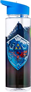 Just Funky Zelda - Water Bottle, Multi Colour