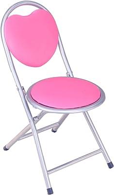 Frenchi Home Furnishing Kids Metal Folding Chair, Pink