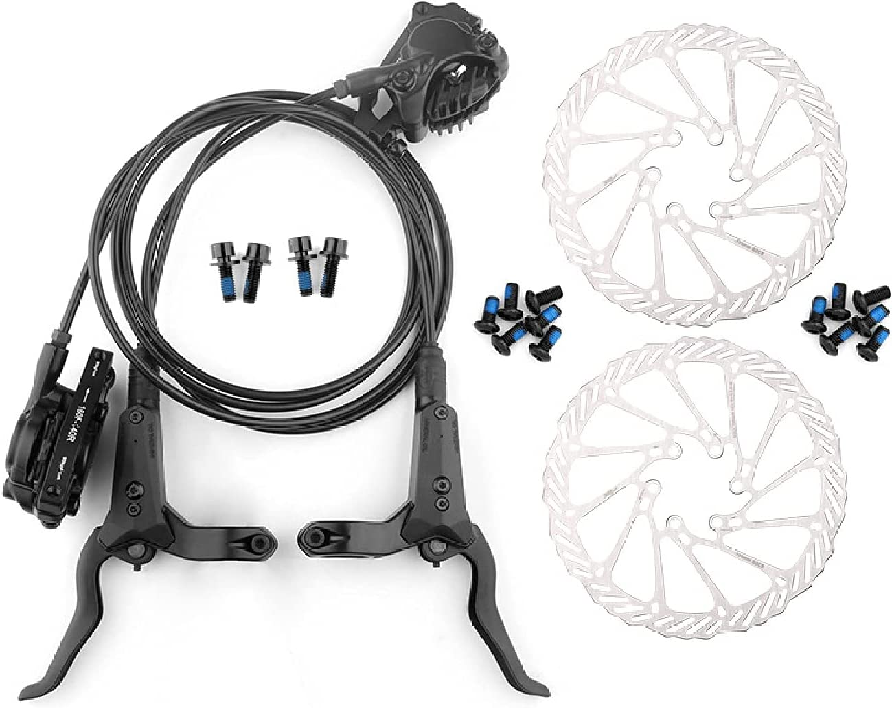 ZPPZYE MTB Hydraulic disc Brakes 160mm Bicycle Aluminum B Popular brand in the National uniform free shipping world Alloy