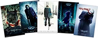 Set of 5 - The Dark Knight (Joker, Heath Ledger) Movie Posters 11