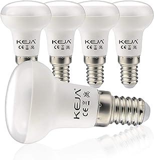 E14 LED Lampen 5 Stück 7Watt, 600 Lumen pro Glühbirne, entspricht 60Watt Glühlampe, 2700 Kelvin Warmweiß, R50 120° Abstrah...