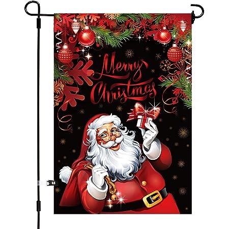 Santa wand Santa Pennant Flag