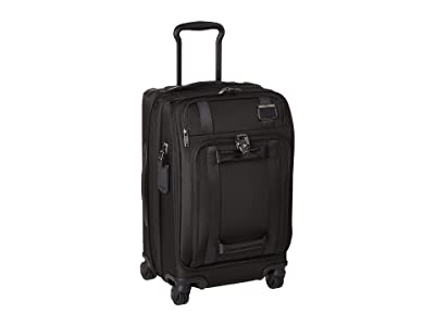 Tumi Merge International Front Lid 4 Wheel Carry-On (Black) Carry on Luggage