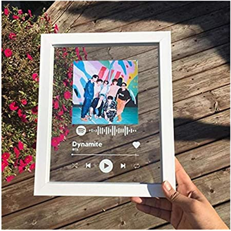 Spotify Glass Plaque 5x7 Acrylic Custom Song Frame